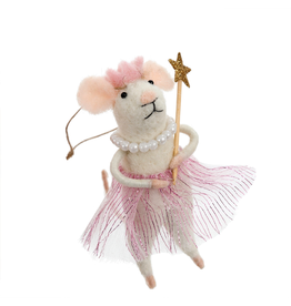 Princess Pearl Mouse Ornament
