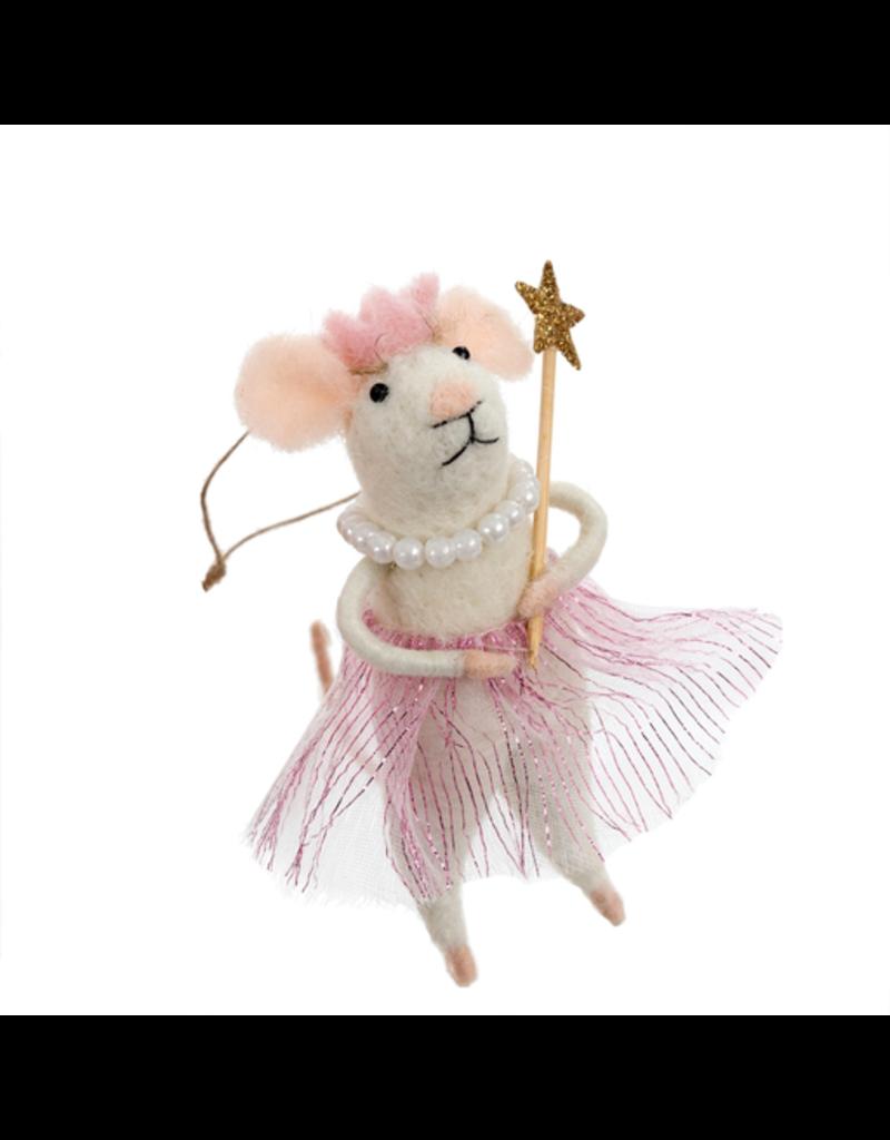 Princess Pearl Mouse Ornament
