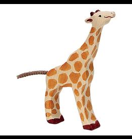 Holztiger Holztiger Giraffe, Small, feeding