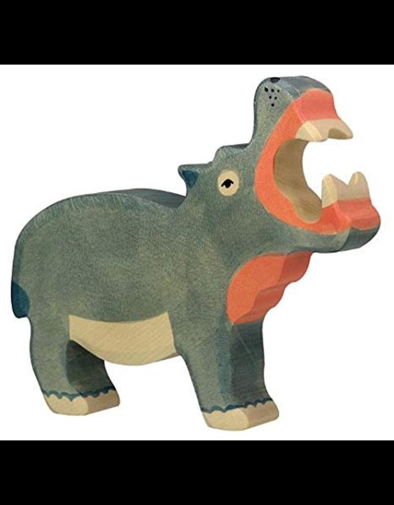 Holztiger Holztiger Hippopotamus