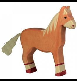 Holztiger Holztiger Horse, standing, light brown