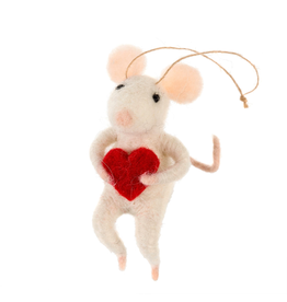 Love You Mini Mouse Ornament