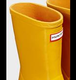 Hunter Boots Kid's First Hunter Gloss Boots Yellow