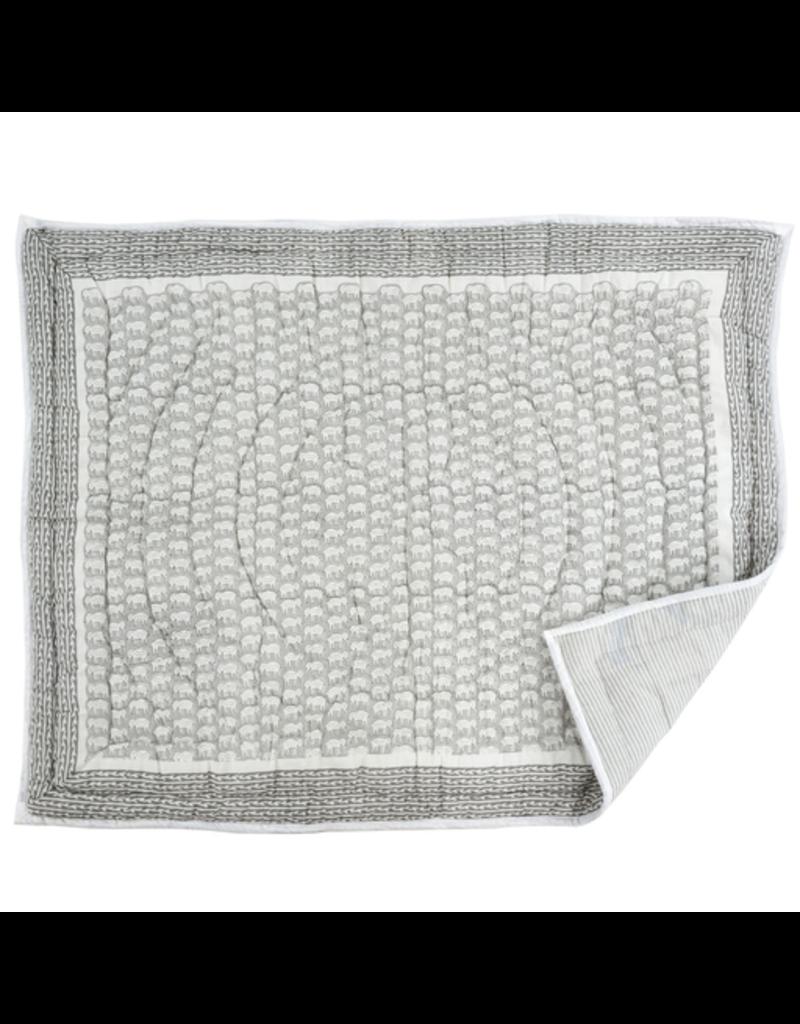 Ellie Baby Blanket, Grey