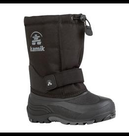 Kamik Black Rocket Snow Boots Size 3