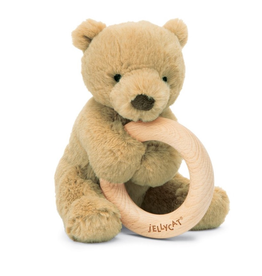 Jellycat Shooshu Bear Wooden Ring