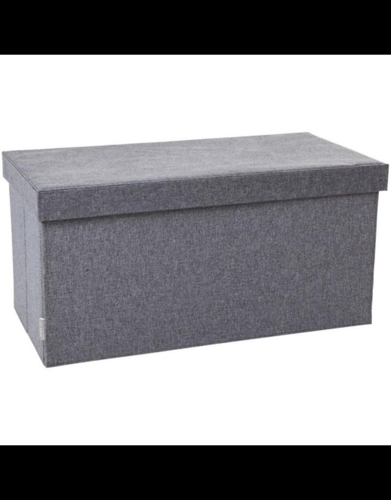 JJ Cole Storage Bench - Slate Heather