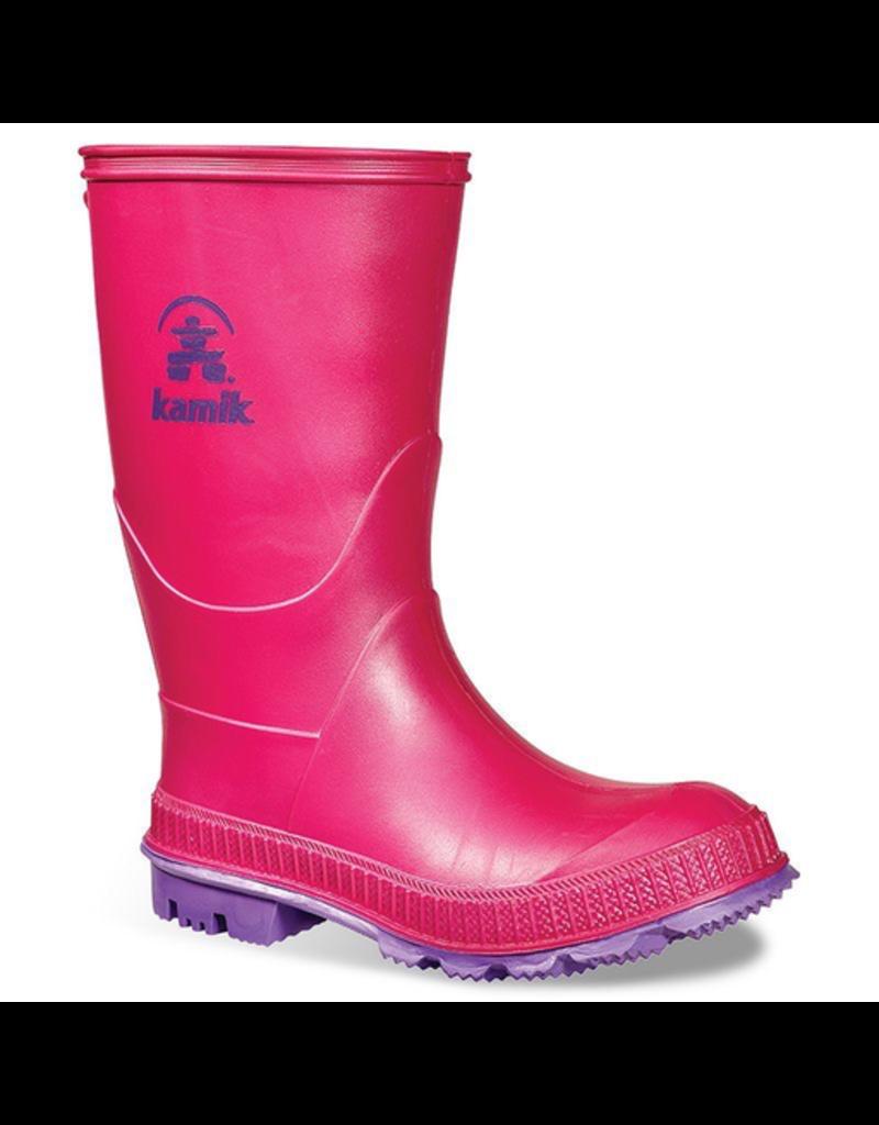 Kamik Stomp Rainboots, Pink Size 5