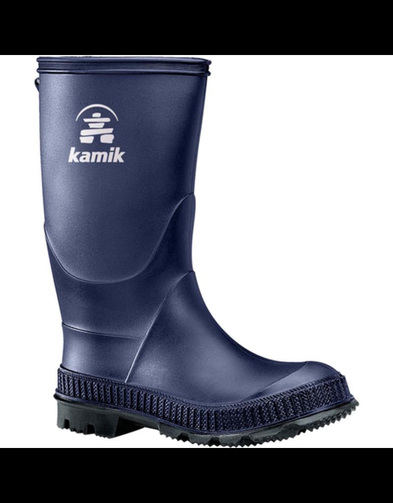 Kamik Navy/Black Stomp Rain Boots