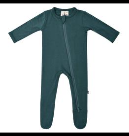 Kyte Baby Emerald Zip Footie