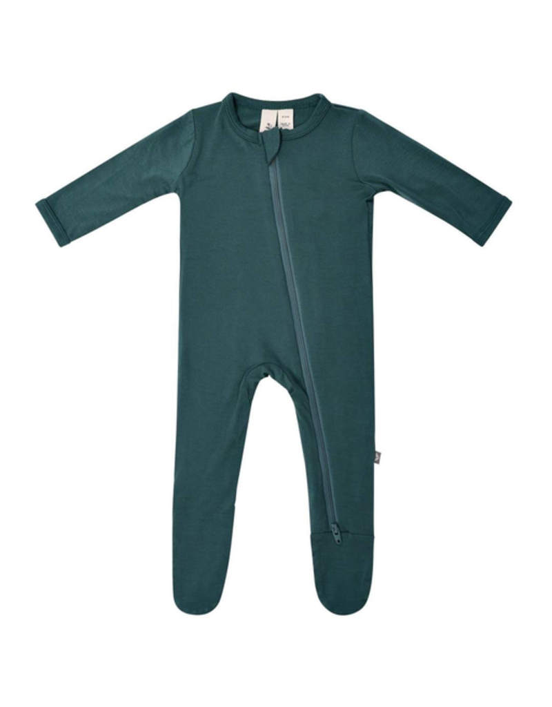 Kyte Baby Emerald Zip Footie