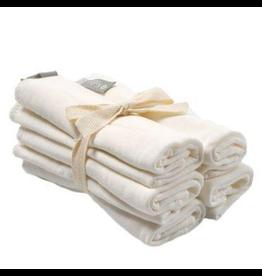 Kyte Baby Bamboo Wash Cloth 5pk, Cloud