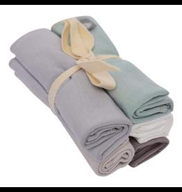 Kyte Baby Bamboo Wash Cloth 5pk, Neutrals