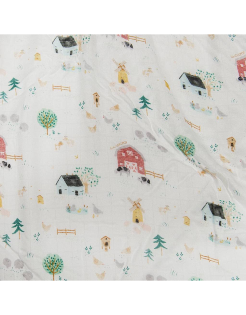 Loulou Lollipop Farm Animals Swaddle