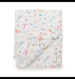 Loulou Lollipop Unicorn Dream Swaddle