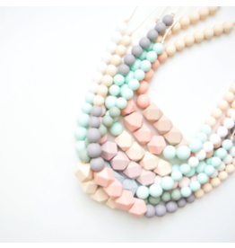 Loulou Lollipop Silicone Geo Statement Necklace