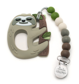 Loulou Lollipop Silicone Sloth Teether