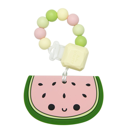 Loulou Lollipop Silicone Watermelon Teether