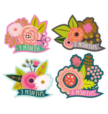 Lucy Darling Lucy Darling Little Blossom Monthly Stickers 1-12