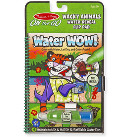 Melissa & Doug Water Wow Wacky Animals
