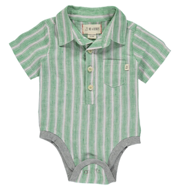 Stripe Button Bodysuit