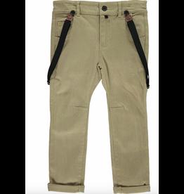 Woven Pants w/Suspenders 4-5y
