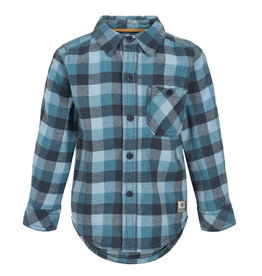 Minymo Plaid Button Shirt