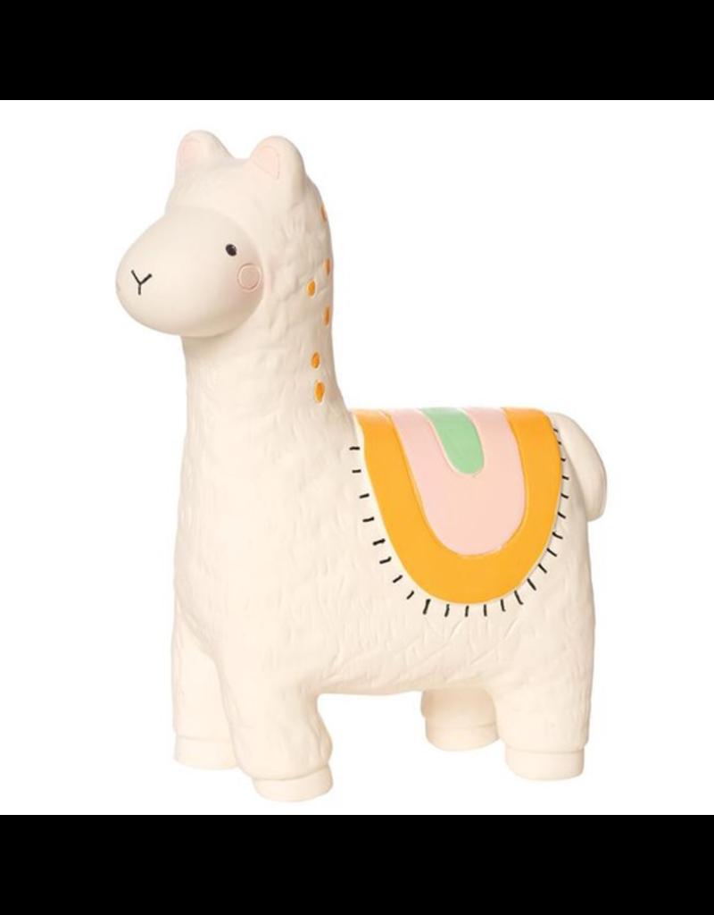 Manhattan Toys Fruity Paws Rubber Teether Toys Lili Llama