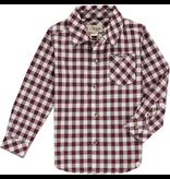 Woven Plaid LS Shirt