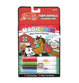Melissa & Doug Farm Animals Magicolor - On the Go Travel Activity