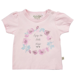 Minymo Floral Baby T-shirt