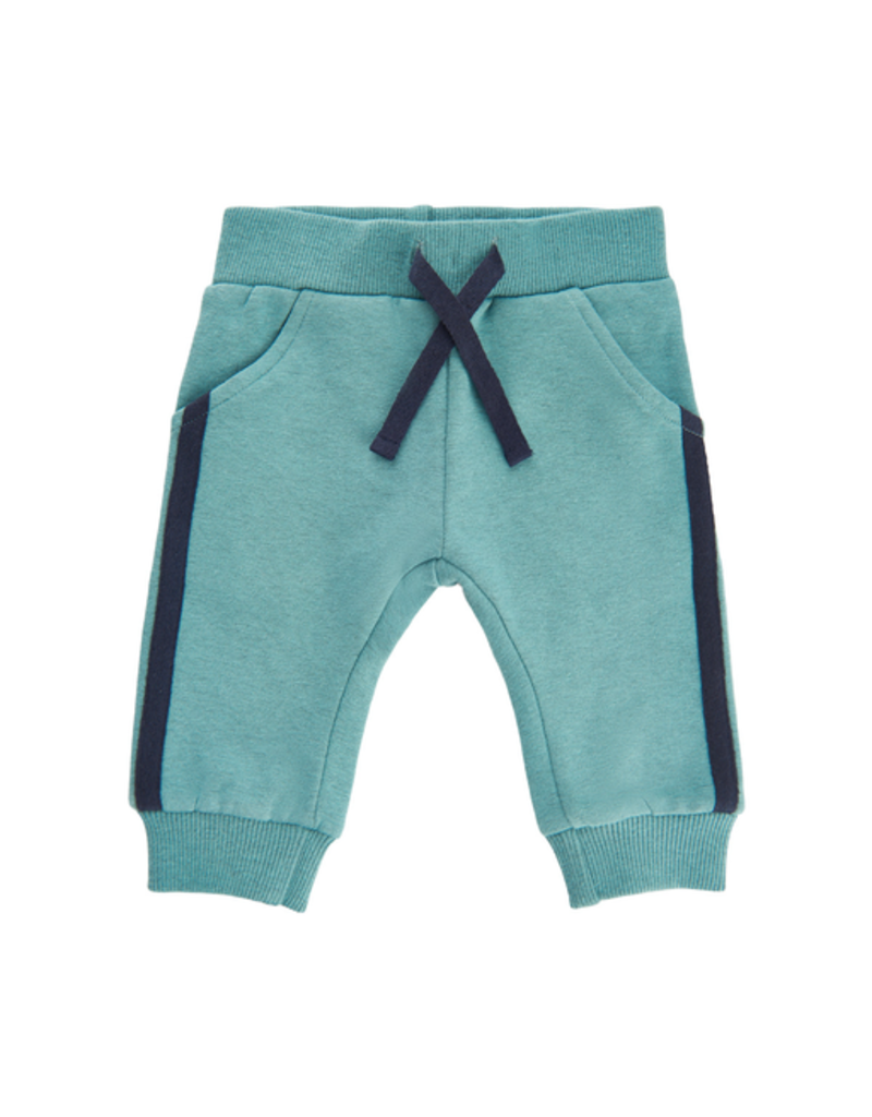 Minymo Toddler Velour Stripe Sweatpants
