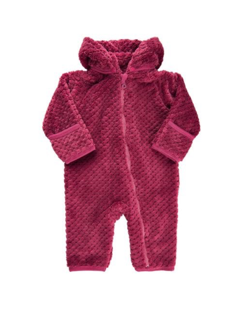 Minymo Fleece Zipper Suit