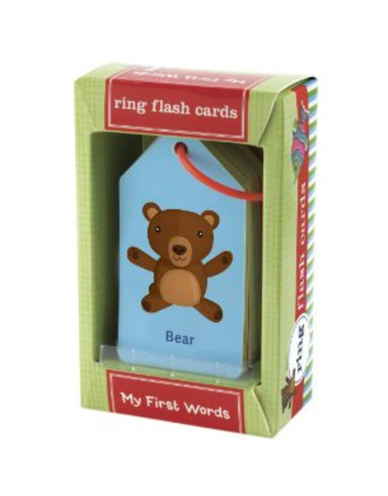 Mudpuppy Flash Cards - First Words