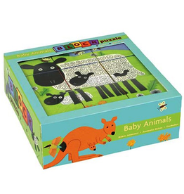 Mudpuppy Block Puzzle - Baby Animals