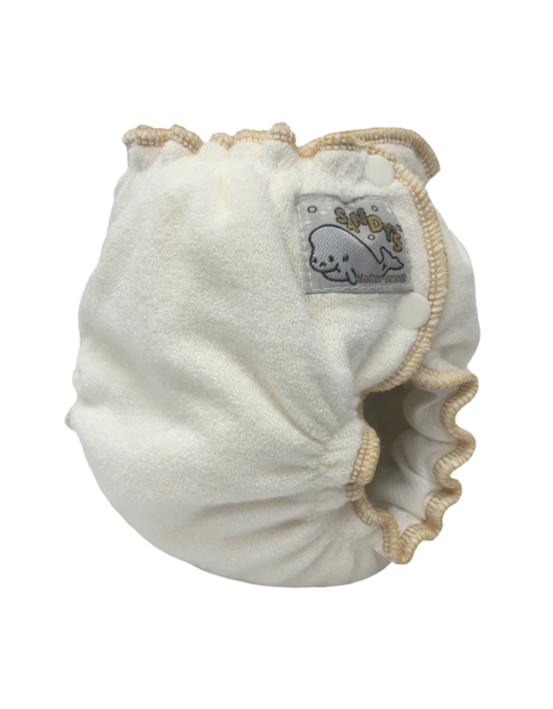 Mother-Ease Mother-Ease Sandy's Diaper Bamboo Newborn