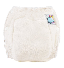 Mother-Ease Mother-Ease Sandy's Diaper Natural Cotton Small