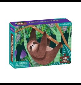 Mudpuppy Three-Toed Sloth Mini Puzzle, 4y+