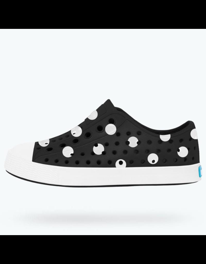 Native Polka Dot Print Jefferson Shoes