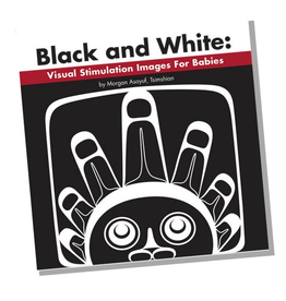 Native Northwest Black and White - Visual Stimulation Images For Babies