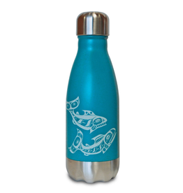 Native Northwest Salmon Insulated Water Bottle