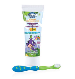 Toddler Natural Toothpaste w/Toothbrush