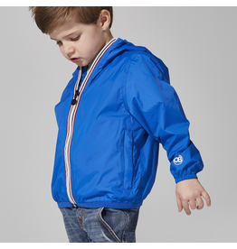 O8 Lifestyle Packable Rain Jacket Royal Blue