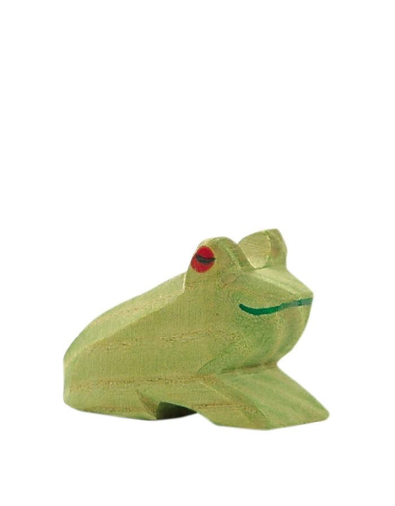 Ostheimer Wooden Toys Frog Sitting