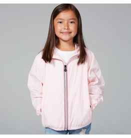 O8 Lifestyle Packable Rain Jacket Ballet Pink