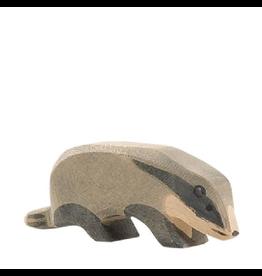Ostheimer Wooden Toys Badger Head Down