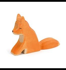 Ostheimer Wooden Toys Fox Sitting