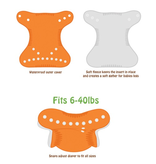 Peachy Baby 1-Size Diaper Cover