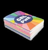 Pocket Pal Mini Journals Girl Power 8pk
