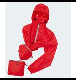 O8 Lifestyle Packable Rain Jacket Celestial Blue